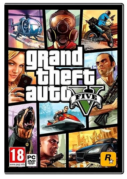 2K Games GRAND THEFT AUTO V: PREMIUM ONLINE EDITION & Great White Shark Card Bundle (2K_3862)