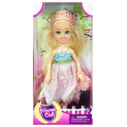 Кукла Shantou Gepai Princess Club Блондинка 12 см KW20895 кукла shantou gepai динозаврик 50 см