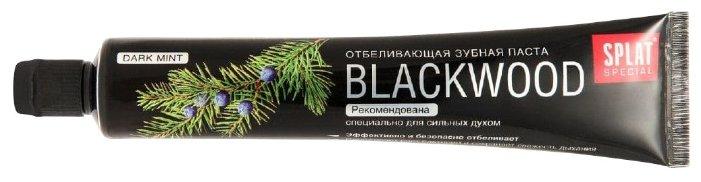 Зубная паста SPLAT Blackwood отбеливающая, можжевельник