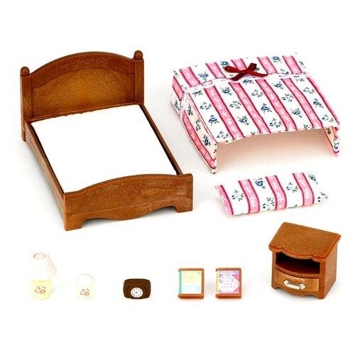 Игровой набор Sylvanian Families Большая кровать и тумбочка 2934Игровые наборы и фигурки<br>