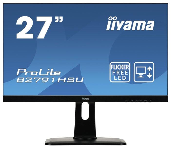 """Монитор Iiyama ProLite B2791HSU-1 27"""" — купить и выбрать из более, чем 16 предложений по выгодной цене на Яндекс.Маркете"""