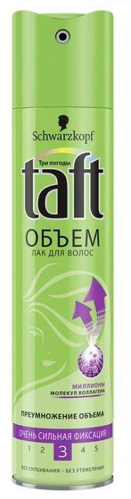 Taft Лак для волос Объём Очень сильная фиксация, экстрасильная фиксация
