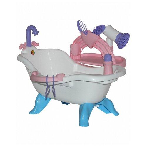 Полесье Набор для купания кукол №3 с аксессуарами Coloma y pastor (47267) белый/розовый/голубой коляски для кукол coloma 3 х колёсная 48141