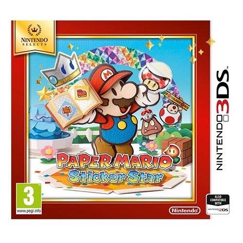 Игра для Nintendo 3DS Paper Mario: Sticker Star английский язык