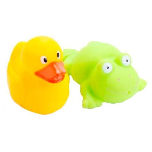 Купить Набор для ванной Играем вместе Лягушка и утка (LXB18_184sim), Игрушки для ванной