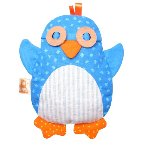 Игрушка-грелка Мякиши Пингвин 22 см цена 2017