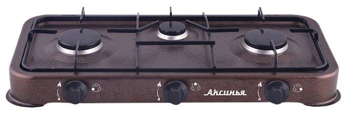 Газовая плита DELTA КС-103 коричневая
