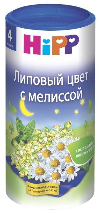 Чай HiPP Липовый цвет с мелиссой, c 4 месяцев
