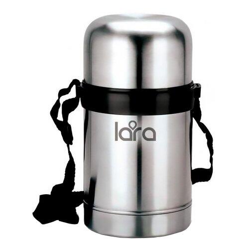 Термос для еды LARA LR04-50, 0.6 л серебристый
