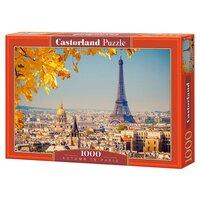 Пазл Castorland 1000 деталей, Осень в Париже, средний размер элементов 1,9?1,7 см