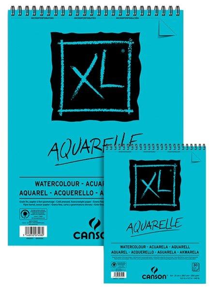 Альбом для акварели Canson XL Aquarelle 29.7 х 21 см (A4), 300 г/м², 30 л.