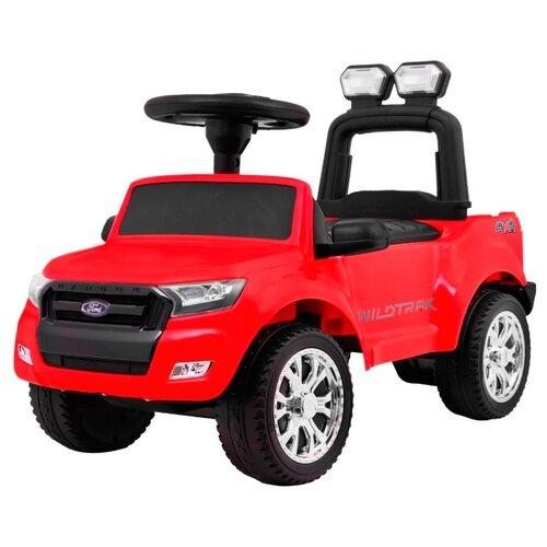 Каталка-толокар RiverToys Ford Ranger DK-P01 со звуковыми эффектами красный