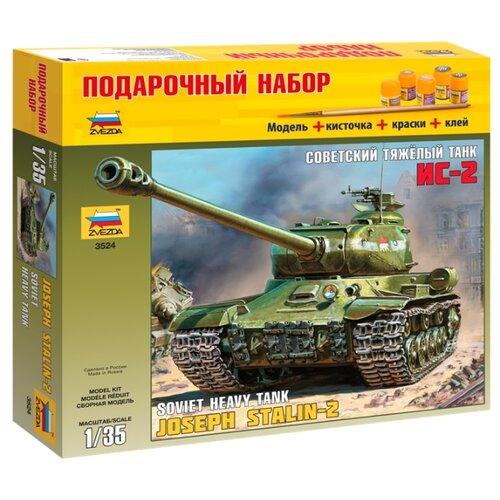 Купить Сборная модель ZVEZDA Советский тяжёлый танк ИС-2 (3524PN) 1:35, Сборные модели