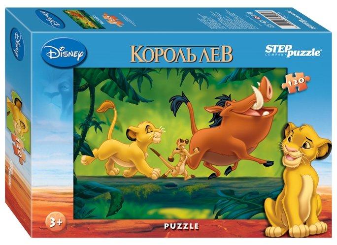 Пазл Step puzzle Disney Король Лев (75105) в ассортименте, 120 дет.