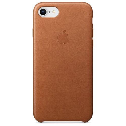 Купить Чехол Apple кожаный для iPhone 8 / 7 Saddle Brown