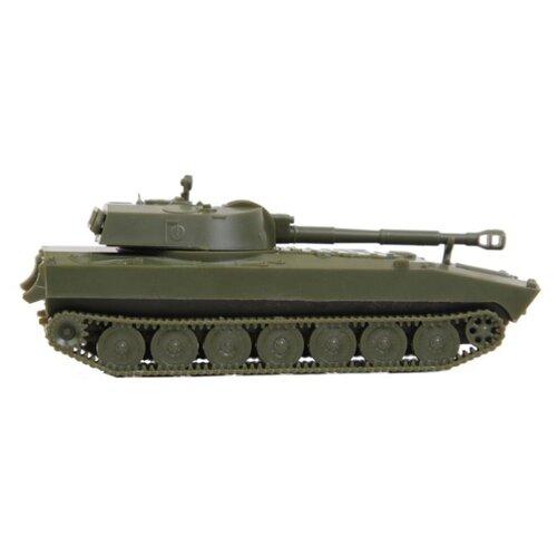 Сборная модель ZVEZDA Советская самоходная гаубица Гвоздика (7421) 1:100 сборная модель zvezda бригантина 9011 1 100
