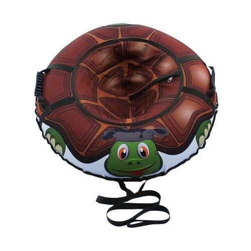 Купить Тюбинг Митек Русская черепаха 95 см коричневый/зеленый, Тюбинги