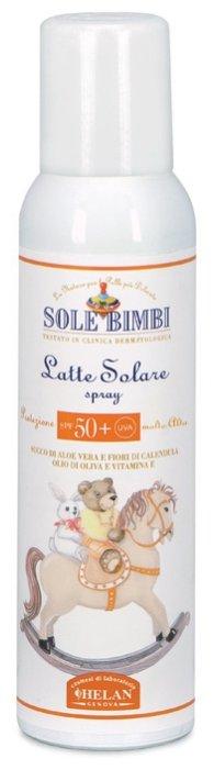 Helan Sole Bimbi солнцезащитное молочко-спрей Latte Solare Spray SPF 50