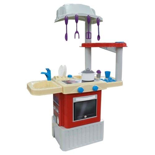 цена на Кухня Palau Toys INFINITY basic №1 42279 красно-белый