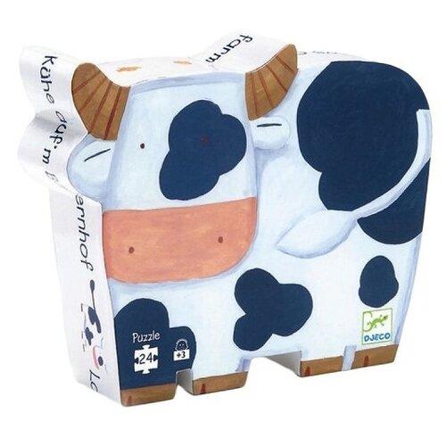 Купить Пазл DJECO Коровы на ферме (07205), 24 дет., Пазлы