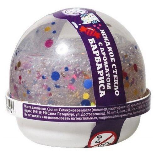Жвачка для рук NanoGum жидкое стекло с конфетти и ароматом барбариса 25 гр (NGLGAB25)