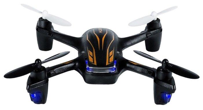 Квадрокоптер Hubsan X4 Plus H107P черный фото 1