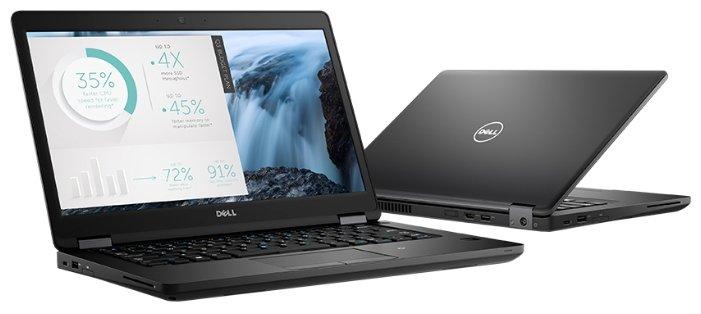 """DELL LATITUDE 5480 (Intel Core i5 7440HQ 2800 MHz/14""""/1920x1080/8Gb/256Gb SSD/DVD нет/NVIDIA GeForce 930MX/Wi-Fi/Bluetooth/Linux)"""