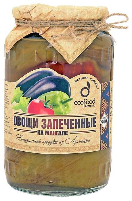 Овощи Ecofood запеченные на мангале с/б 900г