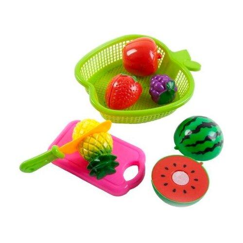набор продуктов с посудой mary Набор продуктов с посудой Mary Poppins Фрукты в яблоке 453046 зеленый/красный