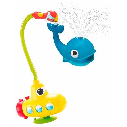 Купить Набор для ванной Yookidoo Подводная лодка и Кит (40142) желто-голубой, Игрушки для ванной