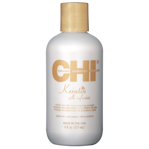 CHI Keratin Шелк для волос, 177 мл chi luxury black seed oil curl defining cream gel