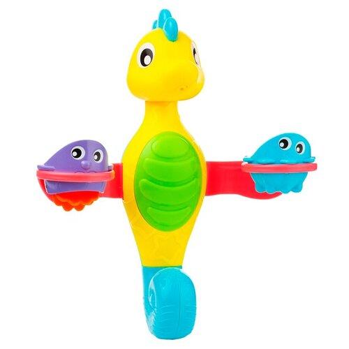 Купить Фонтан Playgro Flowing Bath Tap and Cups (0184957) желтый/зеленый/голубой/красный, Игрушки для ванной