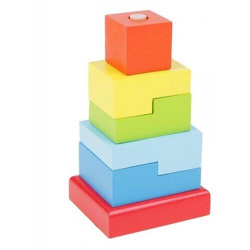 пирамидка alatoys ступеньки 8 деталей Пирамидка Alatoys Ступеньки, 6 деталей