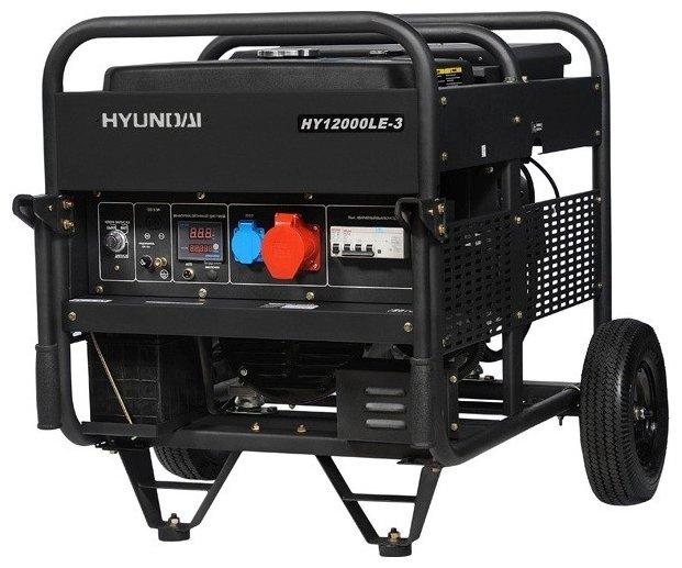 Бензиновый генератор Hyundai HY12000LE 3 (9000 Вт)