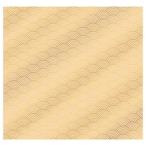 Бумага Арт Узор Мечтай! 2735346, 30.5x30.5 см, 10 листов золотистый, Бумага и наборы  - купить со скидкой