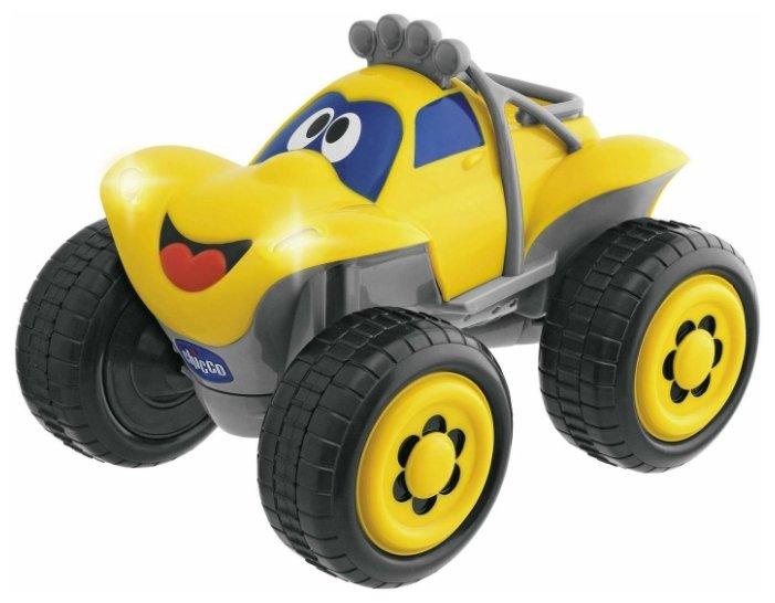 Трагги Chicco Билли Большие колеса (617592/61759) 20 см желтый фото 1