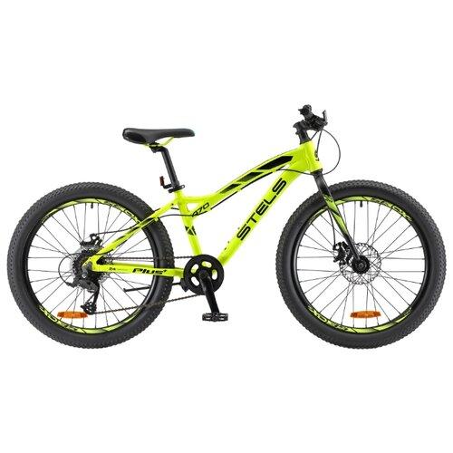 цена на Подростковый горный (MTB) велосипед STELS Navigator 470 MD 24+ V010 (2018) желтый/черный 13.5 (требует финальной сборки)