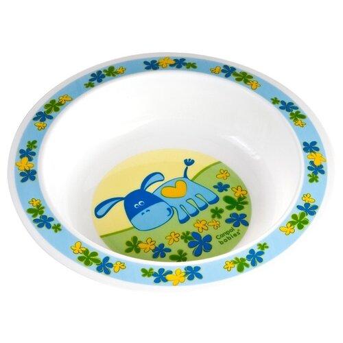Тарелка Canpol Babies глубокая (4/412) голубой
