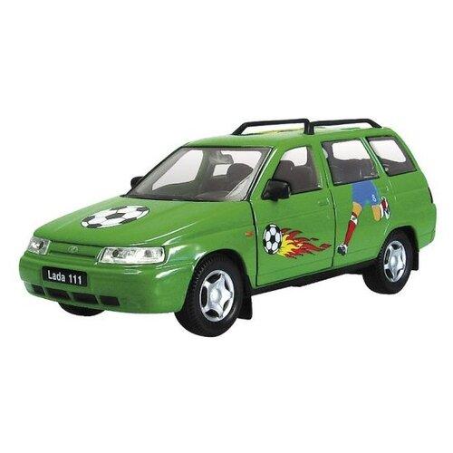 Легковой автомобиль Autogrand Lada 111 Футбол (2782) зеленый значок зеленый футбол