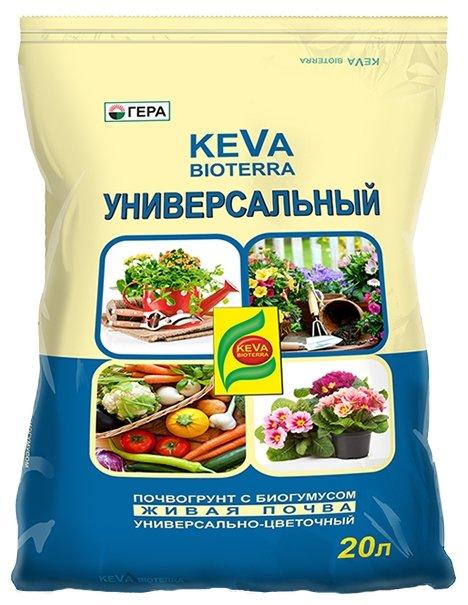 Почвогрунт Гера Keva Bioterra универсальный 20 л.