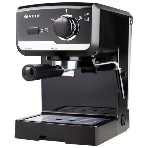 Фото - Кофеварка рожковая VITEK VT-1502, черный кофеварка vitek vt 1503