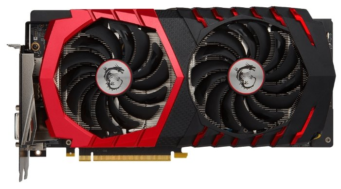 MSI GeForce GTX 1060 1594Mhz PCI-E 3.0 6144Mb 9126Mhz 192 bit DVI HDMI HDCP GAMING X+