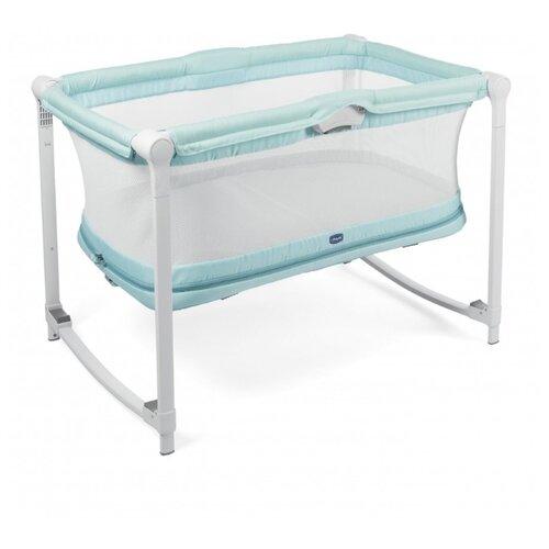 манеж кровать chicco next2me air макс 9кг бежевый от 0 мес до 6 мес 05079620340000 Манеж-кровать Chicco Zip&Go aquarelle