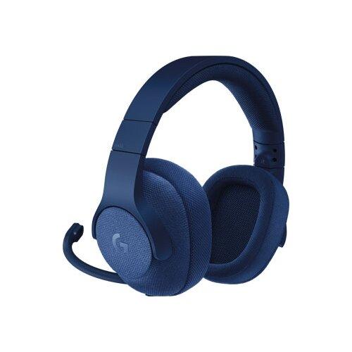 Купить Компьютерная гарнитура Logitech G G433 синий