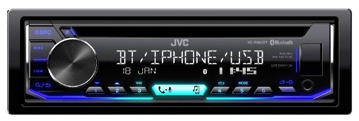 Автомагнитола CD JVC KD-R992BT