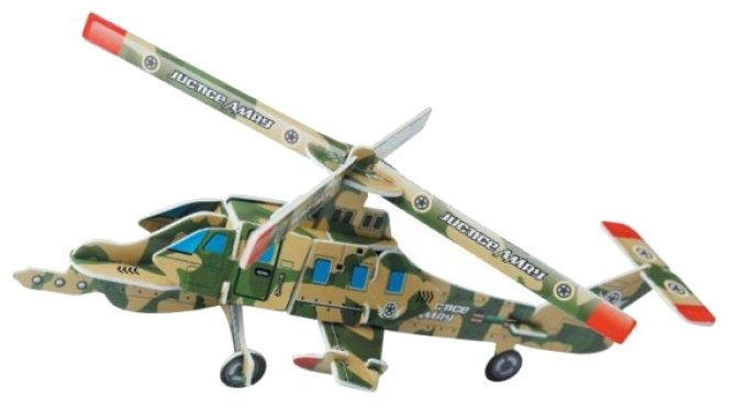 3D-пазл Pilotage 3D Air Force Series Вертолет (RC38110), 25 дет.