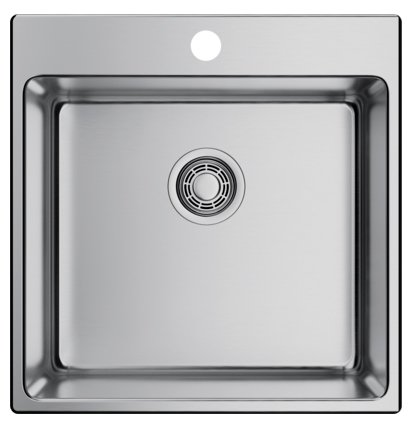 Врезная кухонная мойка OMOIKIRI Amadare 49-IN 49х50см нержавеющая сталь
