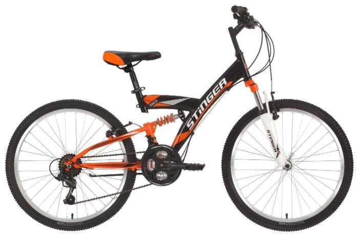 Подростковый горный (MTB) велосипед Stinger Banzai 24 (2018)
