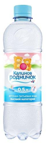 Детская вода Калинов Родничок, c рождения