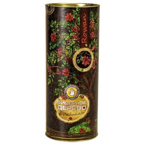 Купить Danko Toys Набор для бисероплетения Бисерное дерево. Рябина БД-03 зеленый/красный, Бисер и бисероплетение